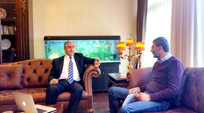 Cumhurbaşkanı Akıncı ile kahvesiz bir röportaj